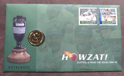 2007 Australian $1 keydate Decimal PNC Ashes Victory - Rare and High CV issue!