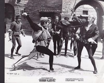 LEONARD WHITING CAST Pose In Town Square Romeo And Juliet