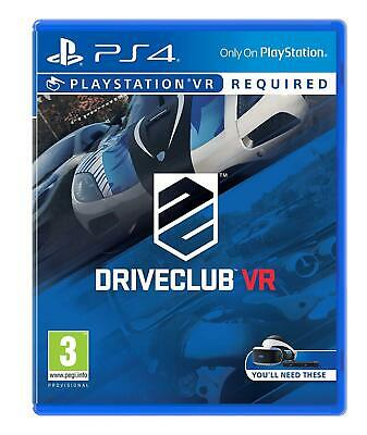 Driveclub VR PSVR (PS4 PLAYSTATION 4 VIDEO GAME) *NEW/SEALED* FREE P&P