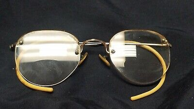 94d98a64a65e ANTIQUE SHURON 1 10 12K Gold Filled Spectacles   Glasses in original ...