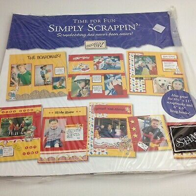 Stampin' Up! Simply Scrappin' Play Time #104361 NIP (SP112)