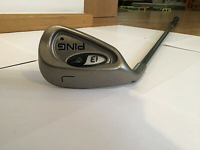 ping golf i3 lob wedge left handed, graphite ping TFC100 reg shaft, new