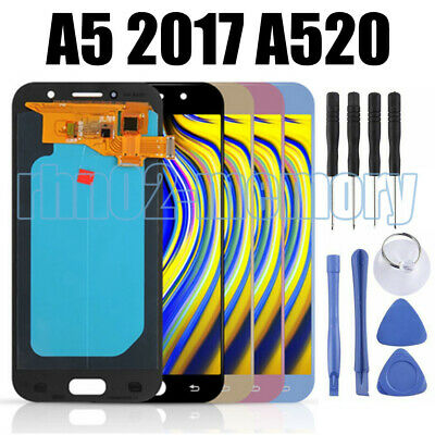 For Samsung Galaxy A5 2017 A520 A520f SM-A520F LCD Display Touch Screen OLED ME2