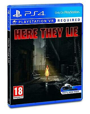 Here They Lie VR (PSVR) (PS4 PLAYSTATION 4 VIDEO GAME) *NEW/SEALED* FREE P&P