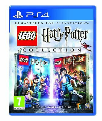 Lego Harry Potter Collection (PS4 PLAYSTATION 4 VIDEO GAME) *NEW/SEALED*