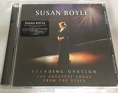 🌟Cd Susan Boyle Standing Ovation The Greatest Songs From The Stage