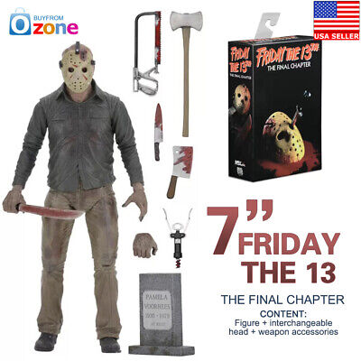 """Friday The 13th Part 4 The Final Chapter Jason Voorhees 7"""" Action Figure"""