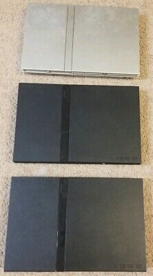 Sony Playstation 2 Ps2 Slims Lot 3 Consoles Only For Parts Or Repair (As Is)