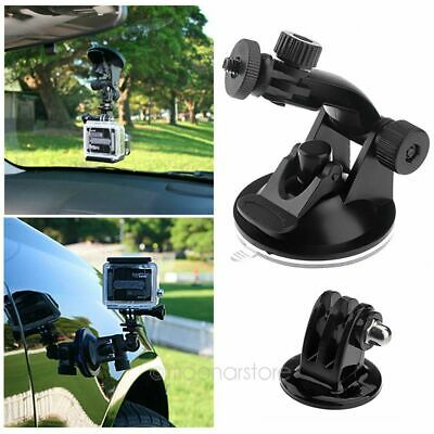 Car Windshield Vacuum Suction Cup Mount + Tripod Adapter For GoPro Hero 1 2 3