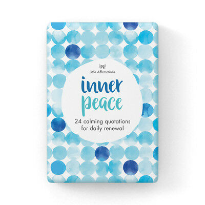 Affirmations  Gifts Card Little Affirmations  Illustrative - Inner Peace