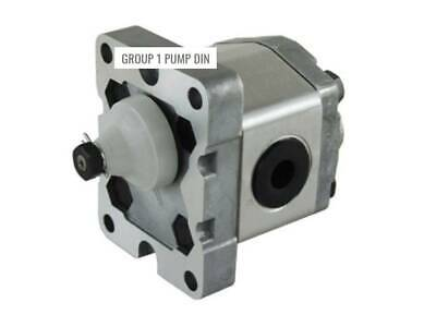 HYDRAULIC GEAR PUMP GRH GROUP 1 DIN MOUNT VARIOUS CC's FREE SHIPPING AUST! .