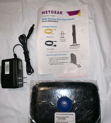 Netgear wndr3400v3 manual