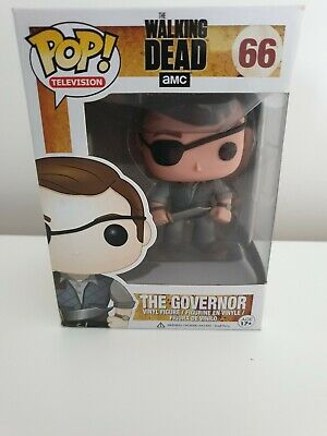 The Governor #66 The Walking Dead Funko Pop Rare and Vaulted