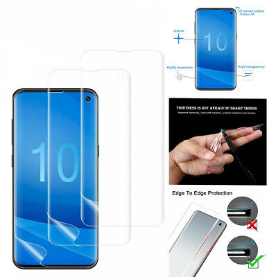 For Samsung Galaxy S10 S10 Plus S10 E HD Clear Soft TPU Film Screen Protector