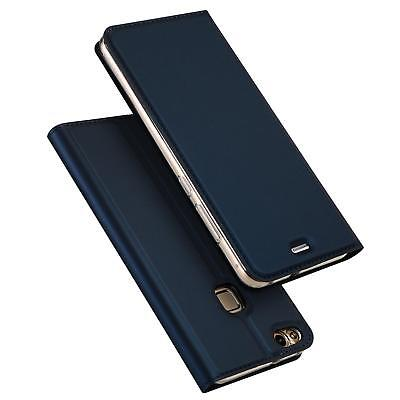 Cover Huawei P9 Lite Mobile Phone Protective Case Flip Case + Glass Foil