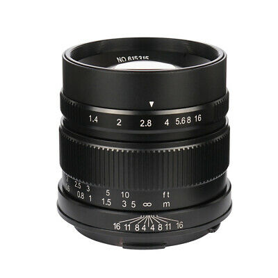 7artisans 55mm/F1.4 Large Aperture APS-C Manual Fixed Lens for leica-T Mount
