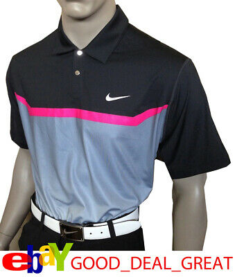 ce9f5bef Nike Tiger Woods TW Designer Print Polo Shirt 542071-010 ***Extremely Rare