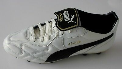 Puma King Top DI FG White Grey Black Soccer Cleats 43 Football Boots Size  US- 59ce33371