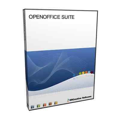 PM Open Office Professional MS Word Doc Excel 2007 Compatible Software