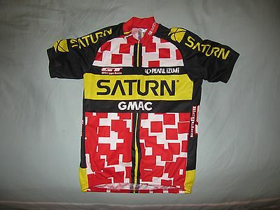 ae24b77da Vintage Pearl Izumi GMAC Saturn Cycling Jersey Shirt Mens M Made USA Bike  Shirt