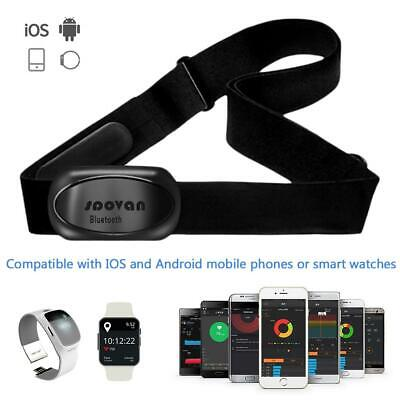 MHR10 Bluetooth V4.0 ANT+ Sport Smart Heart Rate Monitor Sensor Chest Belt Strap
