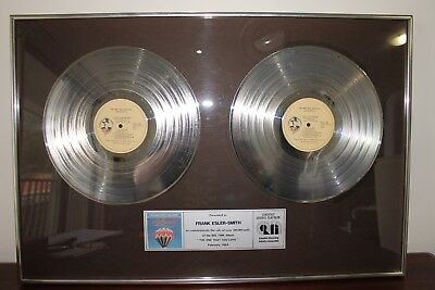 """Air Supply"" Double Platinum Record, awarded to Frank Esler-Smith 1982"