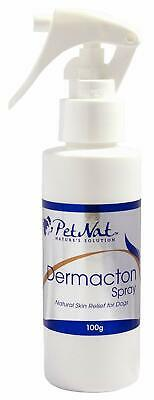 Dermacton Spray Itchy Dog Stops Scratching Calms Sore Irritated Skin Hair Growth