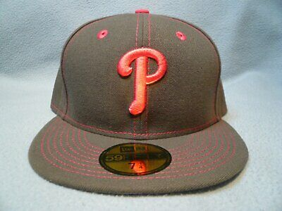 promo code 415f8 fa6b1 New Era 59fifty Philadelphia Phillies Mother s Day Sz 7 1 4 NEW Fitted cap  hat