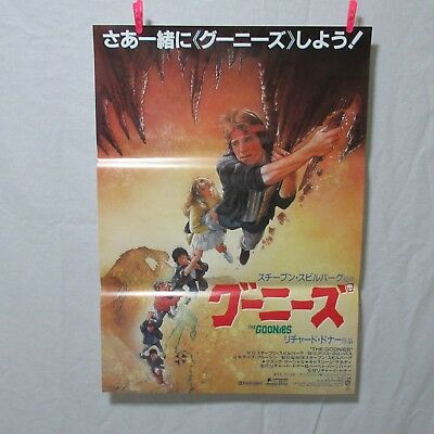 THE GOONIES 1985' Original Movie Poster Japanese  B2