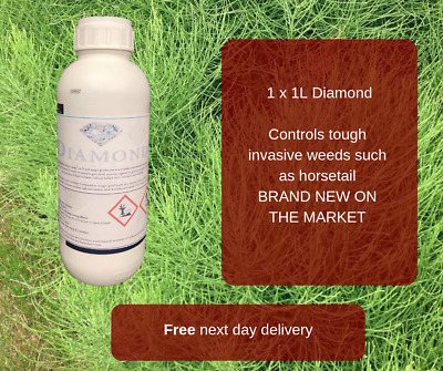 Diamond 1L Horsetail Marestail Weed Killer Extra Strong Invasive Control 2,500M2