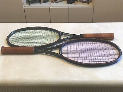 🎾 2  Puma Onyx Saber Tennis Rackets & Head Covers in Very Good Condition