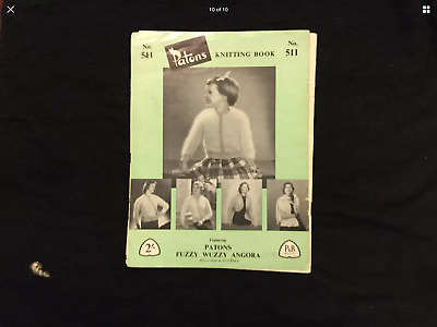 Vintage Patons Knitting Book - #511