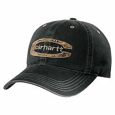 Carhartt Cedarville Cap – Washed Black Carhartt 101470 – Gravel Mens baseball ca