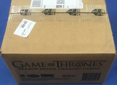 Game of Thrones Season 7 Trading Cards Sealed Case, 12 Boxes, 24 Autos