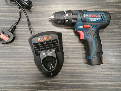 Bosch GSB 10,8-2-Li 10.8V Combi Hammer Drill With Battery And Charger