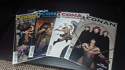 Conan People of the Black Circle Comics issues 1-4 complete run
