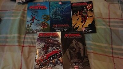 Deadpool Marvel Now Volumes 1 2 3 4 & 6 TPB Collection