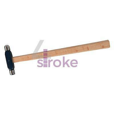 Ball Pein Hammer 2Oz With Oval Shaped Hardwood Handle For Intricate Work