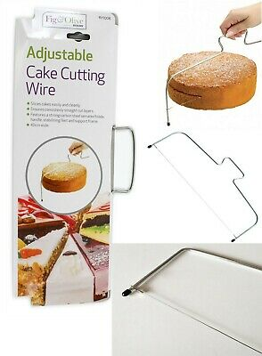 Cake Cutter Wire Slicer Leveller Decorating Utensil Baking Sponge Pastry Cheese
