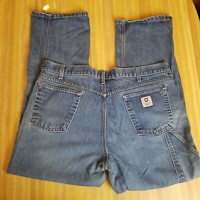 d589eba71f89 Tyndale FR Mens 40 x 32 Flame Resistant Work Jeans ARC Rated HRC 2 Made in