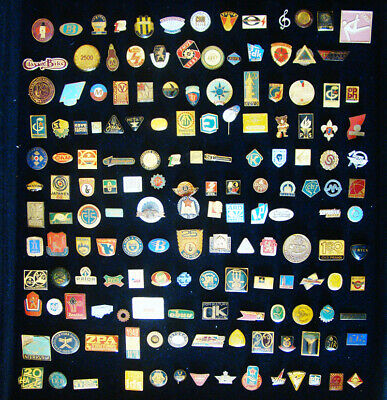 Lot Of 790 Pins Ussr Soviet Era Enamel Cold War Communism Cccp Lennin Sports