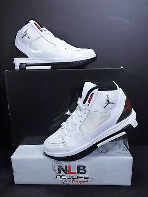 Nike Air Jordan Ol School Ii White Varsity Red Black 331819 161 Men Sz 389c588f7