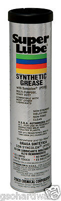 SUPER LUBE 14oz CARTRIDGE Synthetic Grease w/ Syncolon Multi Purpose Lubricant