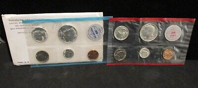 1964 U.S. Mint Unc. Coin Set - Original Envelope          ENN COINS