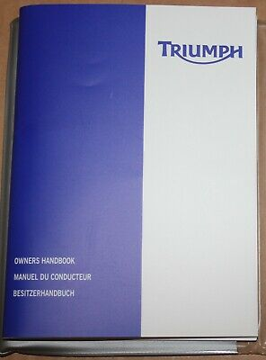 Manuel Conducteur Triumph Tiger  955 Francais - Owner Handbook French