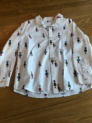 M&S Boys Soldier Shirt 5-6 years