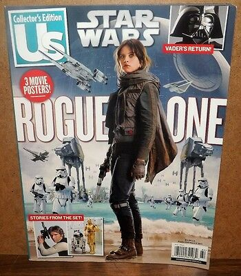 Star Wars Collector's Edition US Rogue One Magazine 2017 Posters Movie