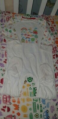 Mothercare Little Bird By Jools Oliver Rainbow Baby Grow  12-18 Mths vguc 🌈🍄🌈