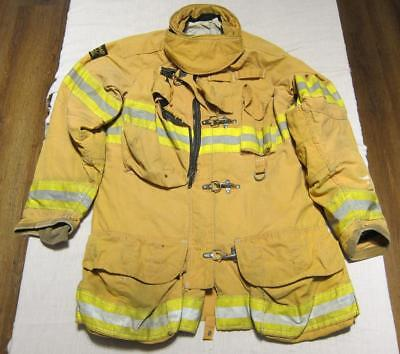 Lion Janesville Firefighter Fireman Turnout Gear Jacket Size 46.35.34 - (CC1)