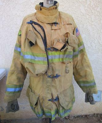 Lion Janesville Firefighter Fireman Turnout Gear Jacket Size 42.35.R - (N1)